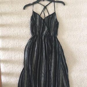 NWOT Striped Maxi Dress